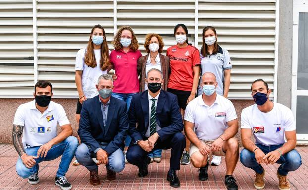Gran Canaria consigue cuatro pases olímpicos y se convierte en base de entrenamiento preolímpico de vela.