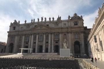 Piazza San Pietro 14 maggio 2017