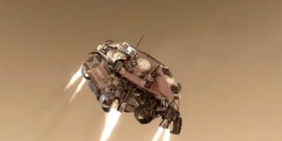 Nasa atterraggio del rover Perseverance su Marte