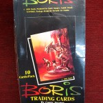 1991 BORIS SERIES 1 TRADING CARDS – BY COMIC IMAGES – FACTORY SEALED BOX