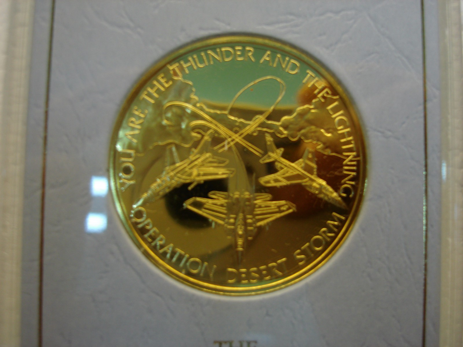 Operation Desert Storm Eyewitness Commemorative Medal