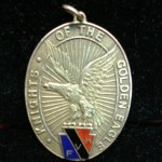 KNIGHTS OF THE GOLDEN EAGLE FRATERNAL MEDAL – – PENNSYLVANIA