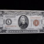 """SER. 1934A $20 """"HAWAII"""" NOTE – UNUSUAL & TUFF NOTE TO FIND"""