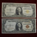 SER. 1935A U.S. $1 HAWAII & NORTH AFRICA NOTES – UNIQUE – YOU GET THEM BOTH
