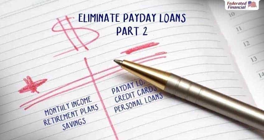 Eliminate payday loans