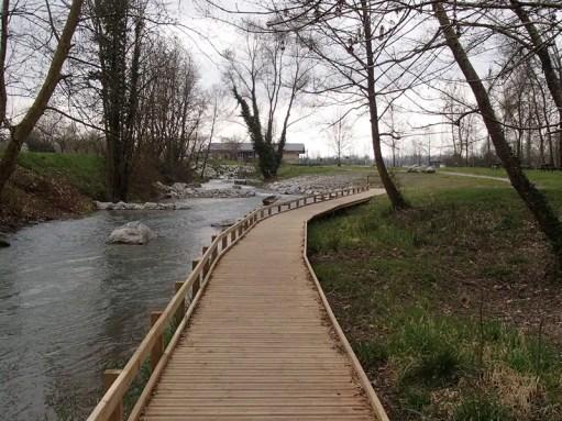 Sentier aménagé Baniou