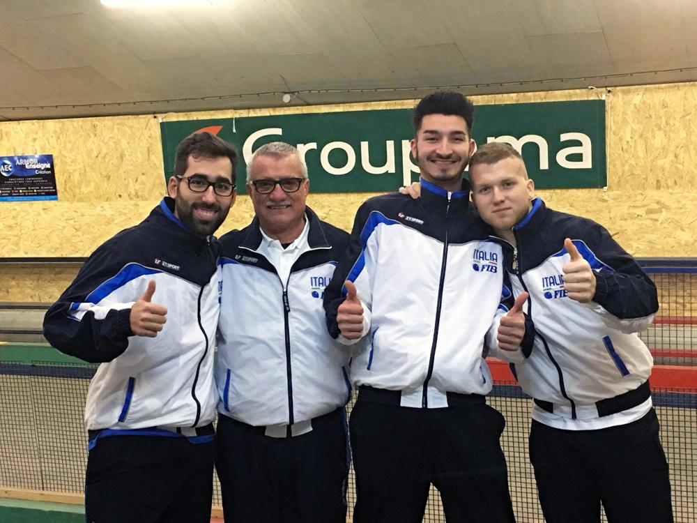 Raffa - Trionfo della giovane Italia a Plaintel