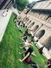 Yoga al Museo di Arte Contemporanea di Rivoli