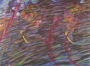 U. Boccioni, Quelli che partono, 1911, Museo del Novecento, Milano.