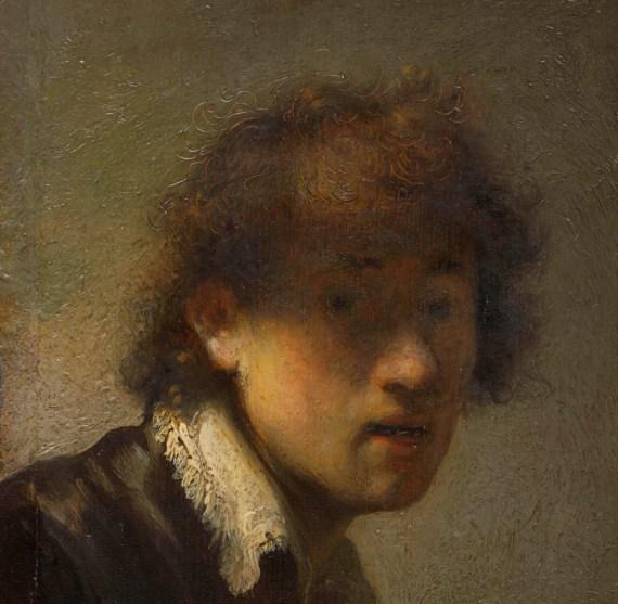 """Il pARTicolare. Rembrandt e il suo """"Autoritratto"""" del 1629"""