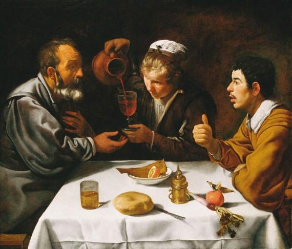 """Il pARTicolare. """"Il Pranzo"""" di Velázquez in """"Da Raffaello a Schiele"""" a Milano"""