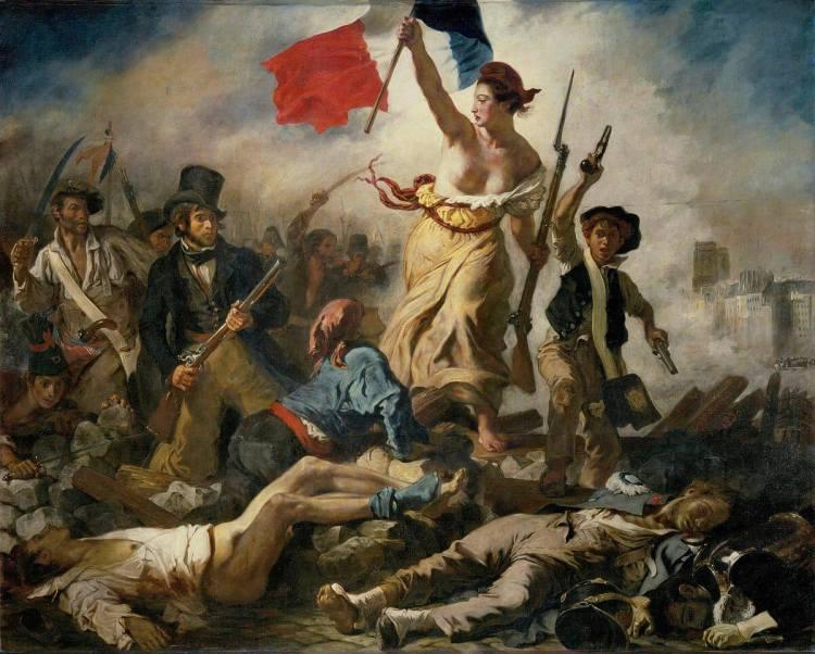 """JOURNEYS – Il pARTicolare. """"La Libertà che guida il Popolo"""" di Eugène Delacroix"""