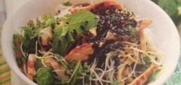 Insalata di spaghetti di riso