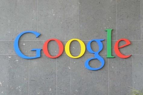 Cartel de Google