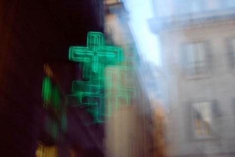 fotografía de símbolo farmacia