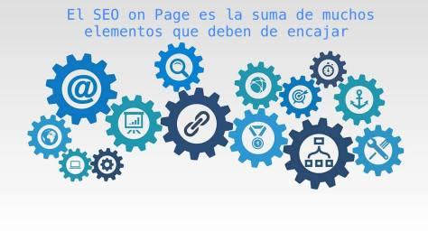 El SEO on page suma de elementos que deben de encajar