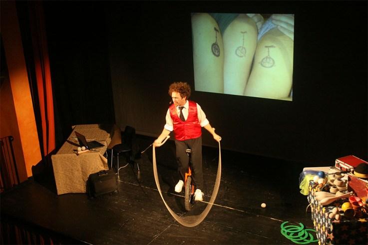 fisica sognante al teatro di Castello d'Argile