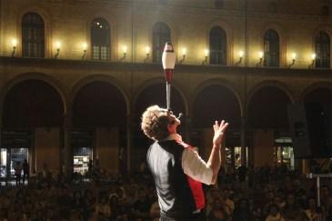 Imola , Fisica Sognante in Piazza Matteotti