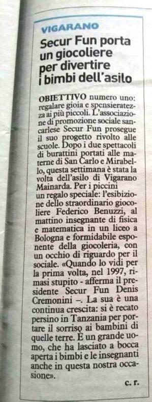 articolo Carlino Medolla