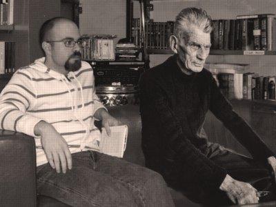 Federico Platania e Samuel Beckett