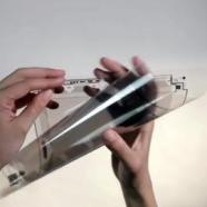 Display flessibile, prototipo inglese