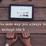 AirType: the invisible keyboard – potremo usare il pc digitando direttamente sulla sabbia!
