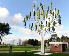 L'albero del vento: il generatore eolico perfettamente integrato con l'ambiente – New Wind Turbine That Looks Like A Tree
