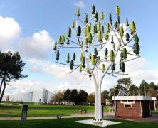 L'albero del vento: il generatore eolico perfettamente integrato con l'ambiente – New Wind Turbine That Looks Like A Tree