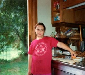 Clare cooks 1987