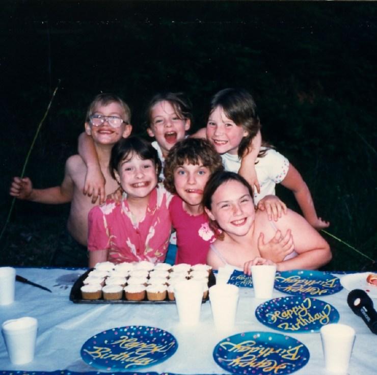 Clare Birthday 1987