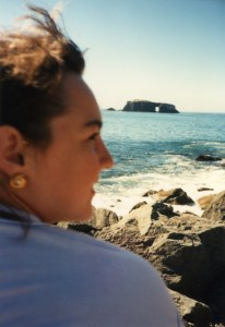 Clare at Clifornia ocean