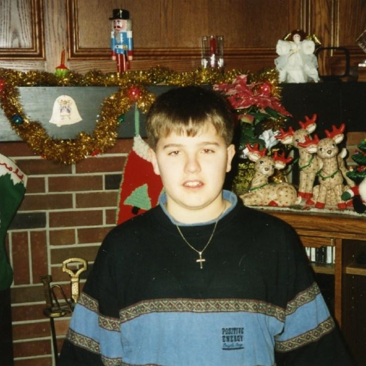 Rob Christmas 1991