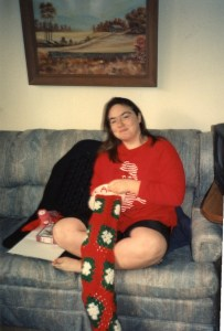 Clare's Christmas Stocking 1993