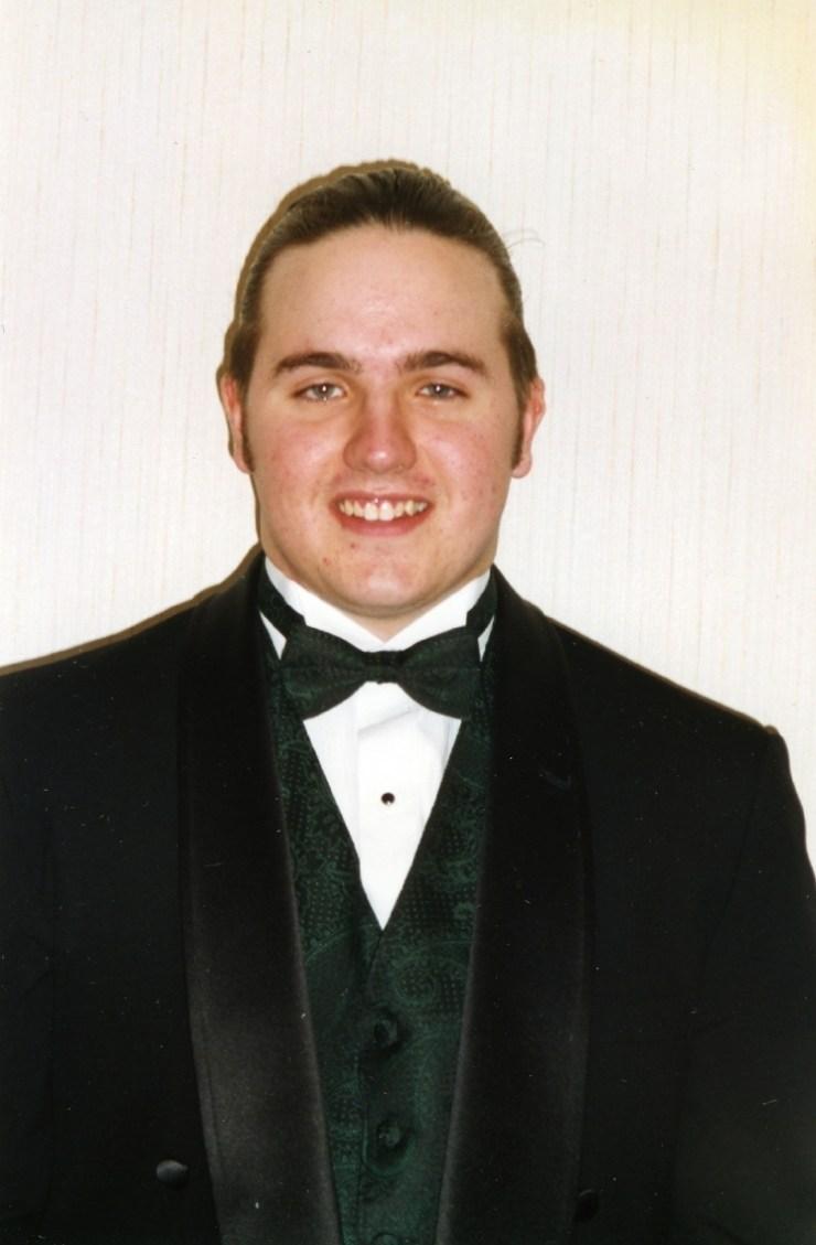 Rob at Prom 1996