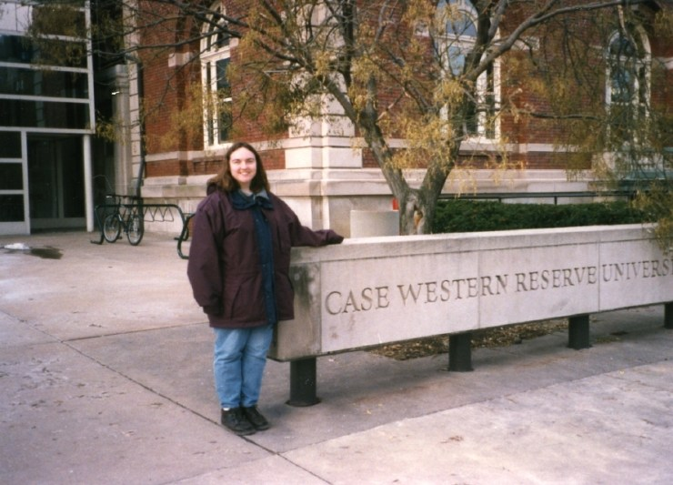 Clare at Case 1997