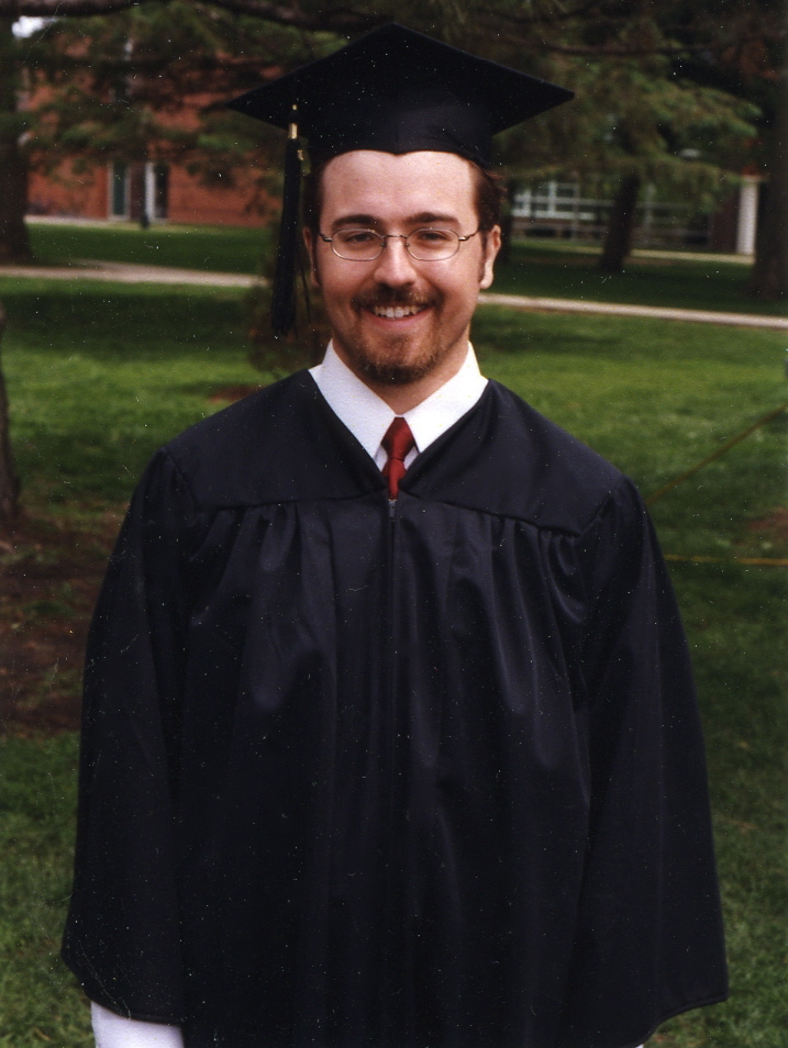 Rob graduates from Grinnell 2001