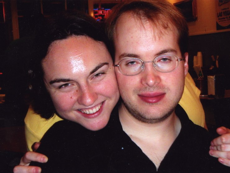 Clare and Paul - 2003