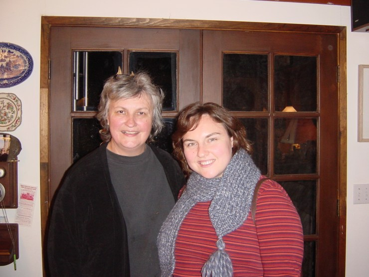 Clare and Aunt Jean