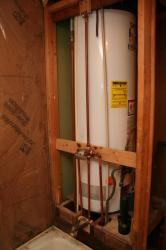 plumbing finished overview