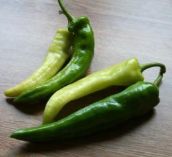 anaheim and banana peppers