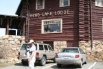 We stopped by the Echo Lake Lodge