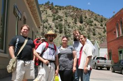 Chris, Greg, Curt, Spencer, Rob, and Clare in Idaho Springs
