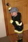 Spencer the firefighter / train conductor