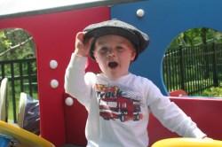 Spencer likes hats