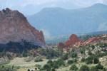 Red Rocks in Garden of the Gods