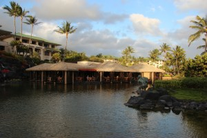 Other side of tidepools restaurant