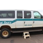 Our 4x4 van for the rainforest excursion