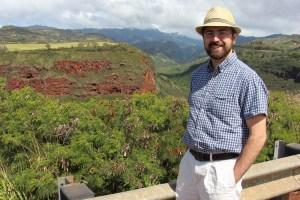 Rob near Waimea canyon