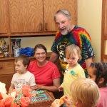 Kids want cake :-)