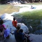 Everybody watching Rick kayak